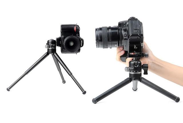 Sunwayfoto T1A20D-T combo w/ Nikon DSLR