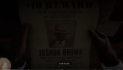 Joshua Brown, Bounty Hunting Guide, RDR2, Red Dead Redemption 2