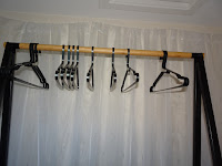coat hanger drying system