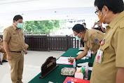 Sukseskan Program OD-SK, Sekdaprov Silangen Pimpin Penandatanganan PK di Lingkungan Setdaprov Sulut