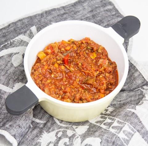Bolognese med Mango Chutney