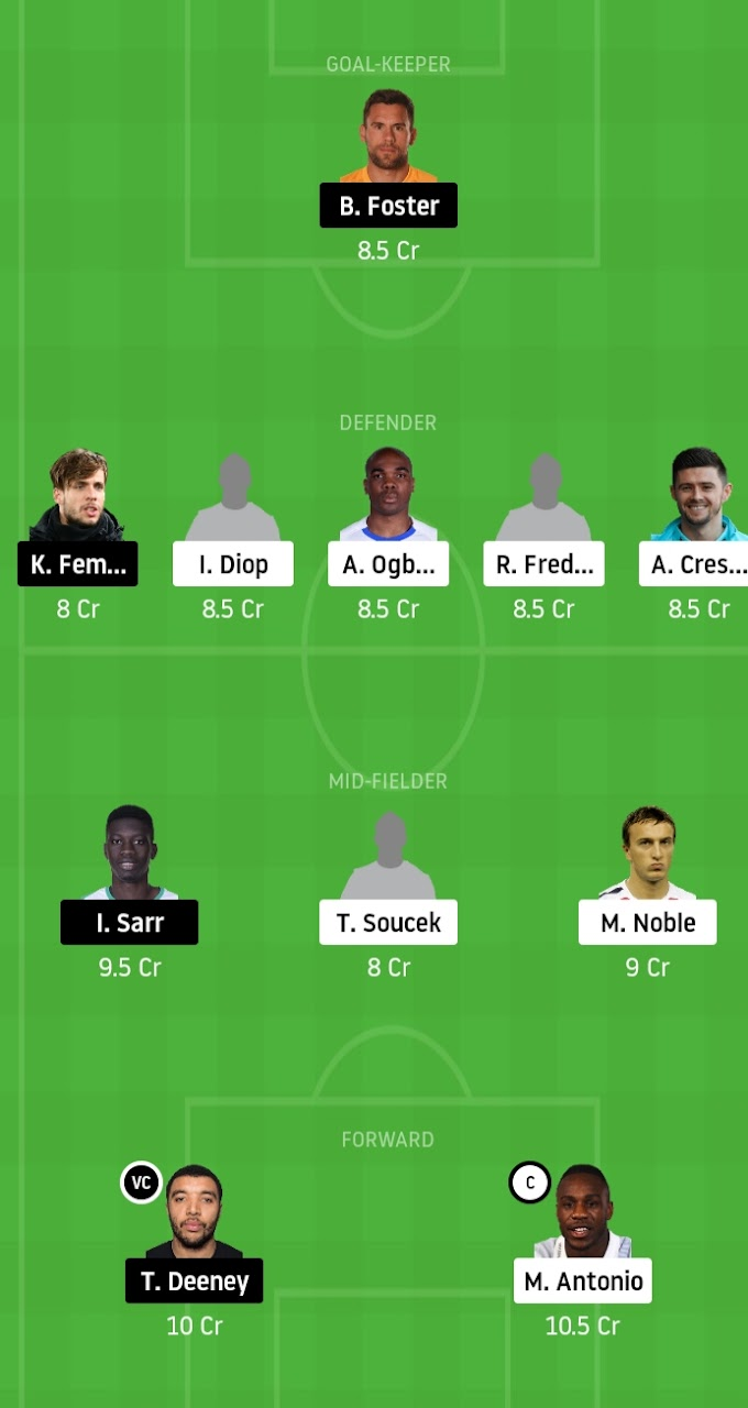 Premier League 2019-20 -  West Ham United Vs Watford Crunch Encounter In The Race For Survival, Dream11 Fantasy Team Prediction