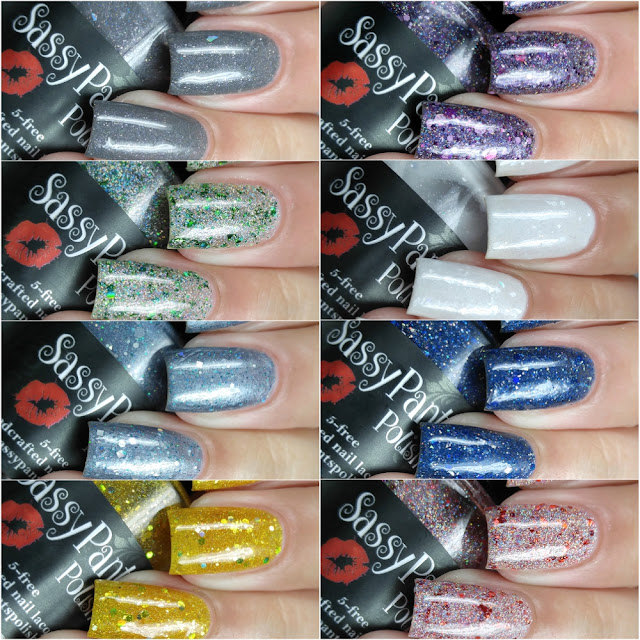 Sassy Pants Polish - Twas the Night Before Christmas Collection