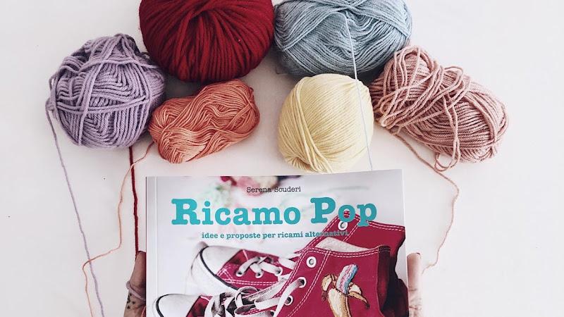 Ricamo Pop: il mio libro di ricamo contemporaneo