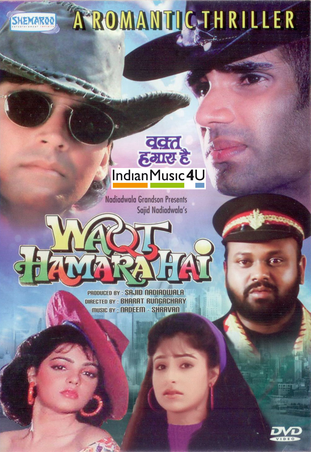 Waqt Hamara Hai (1993) Hindi 720p HDRip x264 1.2GB