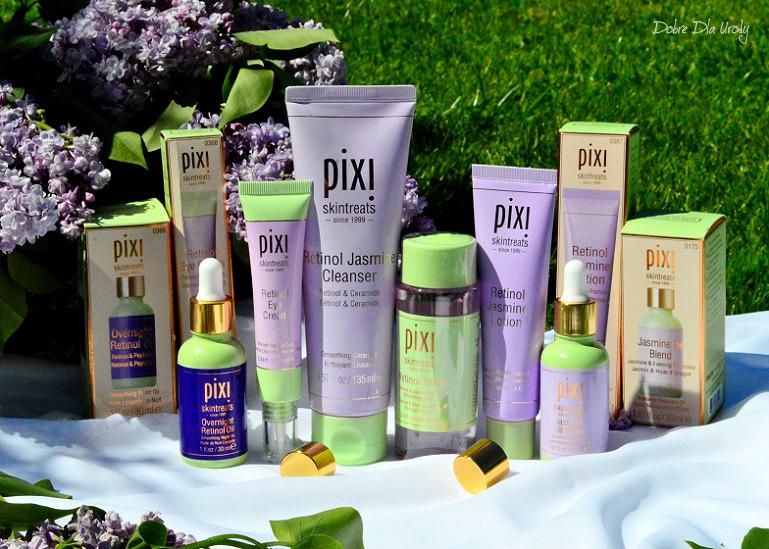 Pixi Retinol & Jasmine Collection - kosmetyki do twarzy recenzja