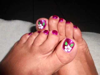 Pintados para pies
