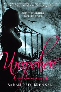 Book Cover Unspoken by Sarah Rees Brennan