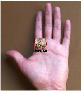 Monte y dedo de Júpiter