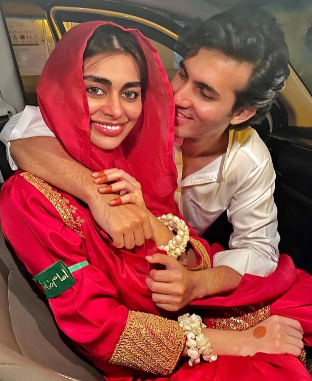 Sadaf Kanwal Shahroz Sabzwari Photos after Nikah