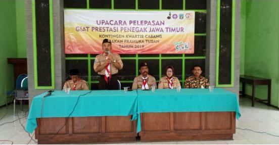 SMAN 1 SOKO Ikuti Ajang Giat Prestasi Penegak di Jawa Timur