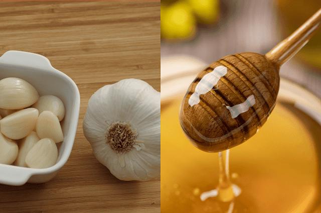 وصفة الثوم والعسل