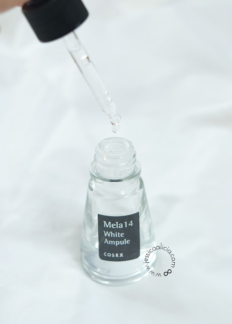 Review : COSRX Mela14 White Ampule by Jessica Alicia