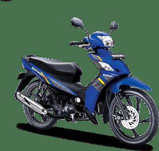 Letak Nomor Rangka dan Nomor Mesin Suzuki Smash