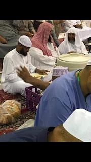 Syaikh Ali Hasan Al-Halabi dengan Syaikh Ibrahim bin Amir Ar-Ruhaily