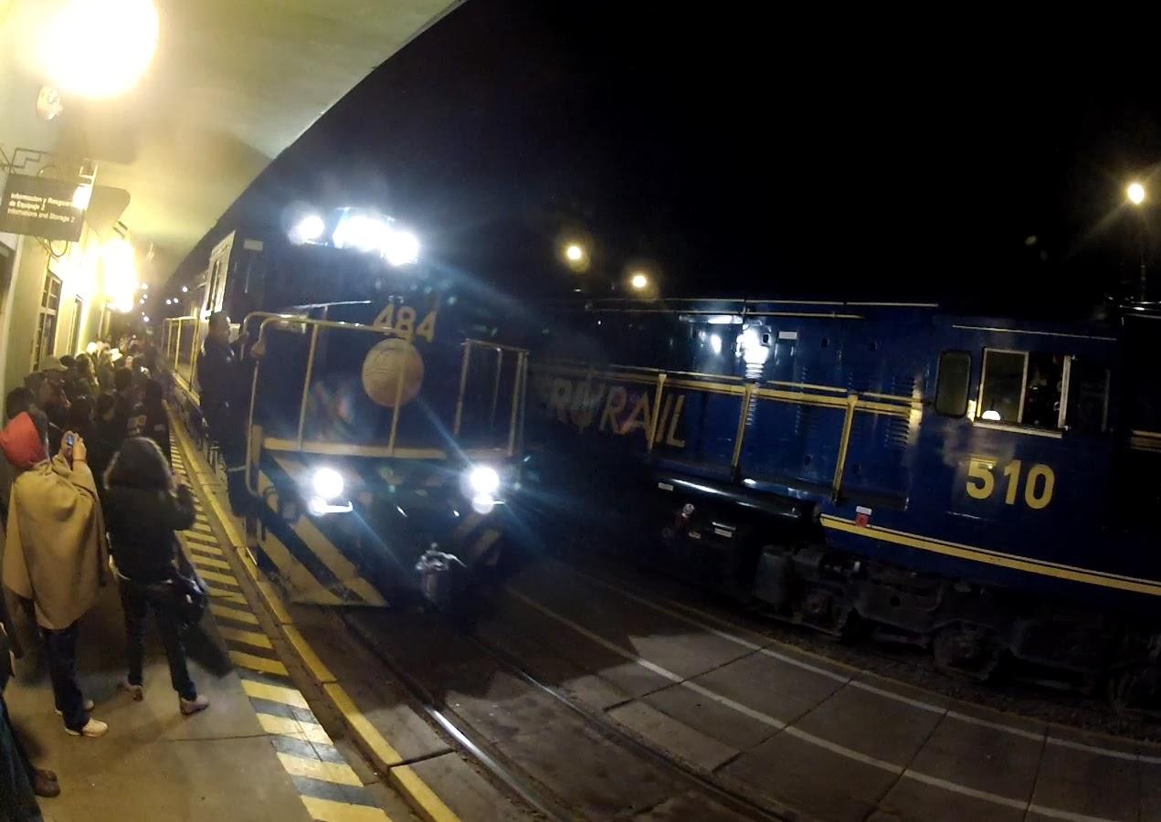Substituição de locomotiva com problema.