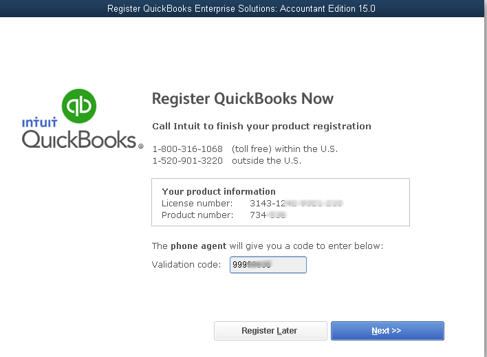 Quickbooks 2007 validation code keygen generator