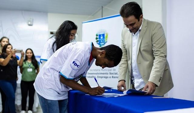 Anápolis: Mais 31 jovens têm oportunidade do primeiro emprego