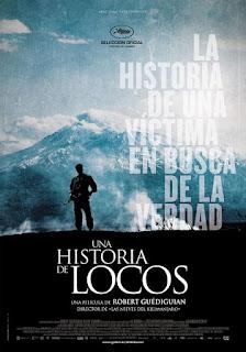 Cartel oficial español: Una historia de locos (2015)