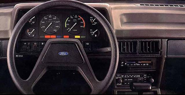 Ford Del Rey Ouro Automático - interior - painel
