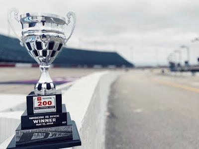 #NASCAR Xfinity Series, 'Toyota 200' Trophy