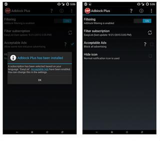 Cara Memblokir Iklan di Android Anda