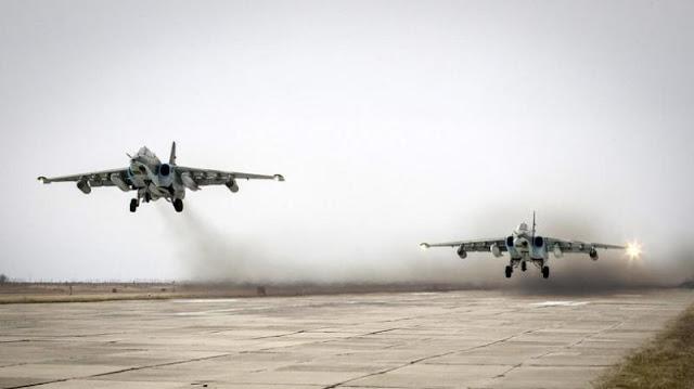 Rombongan Pertama Pesawat Rusia Tinggalkan Suriah