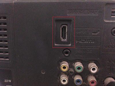TV Sobat harus support HDMI, tapi kebanyakan TV sekarang sudah support koq Sob.(Lihat gambar).