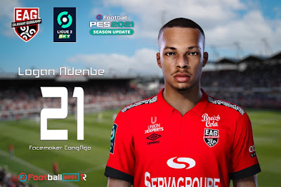PES 2021 Faces Logan Ndenbe by CongNgo