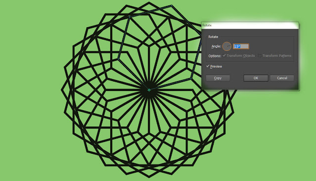 copy object ilustrator