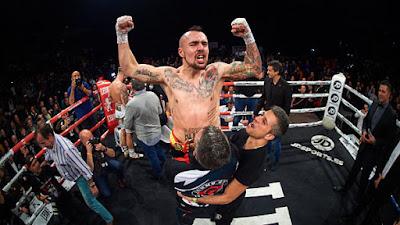 David Soria campeón boxeo