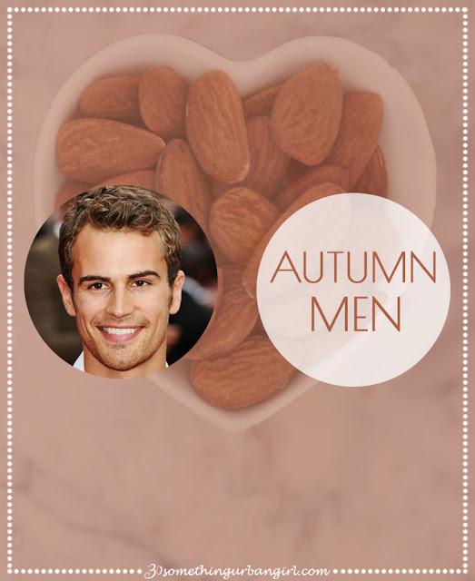 Autumn seasonal color palette description for men by 30somethingurbangirl.com