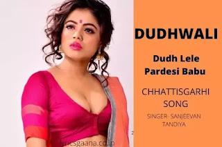 Dudh Le le Pardesi Babu Cg Song दूध ले ले परदेशी बाबू Lyrics