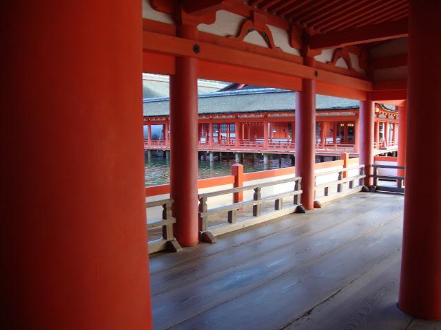 il bellissimo arancione del santuario