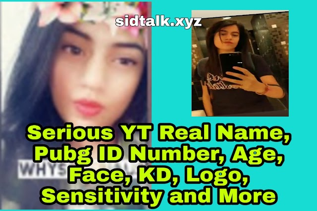 Serious YT Real Name, Pubg ID Number, Age, Face, KD, Logo, Sensitivity and More | Hydra Serious Biography