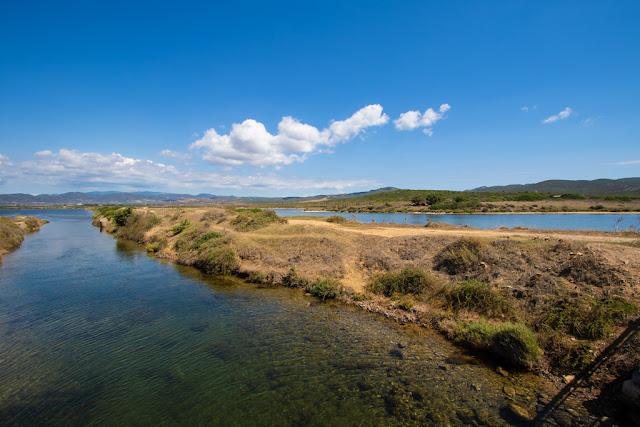 Spiaggia di Is Arenas Biancas-Porto Pino-Sentiero e stagni