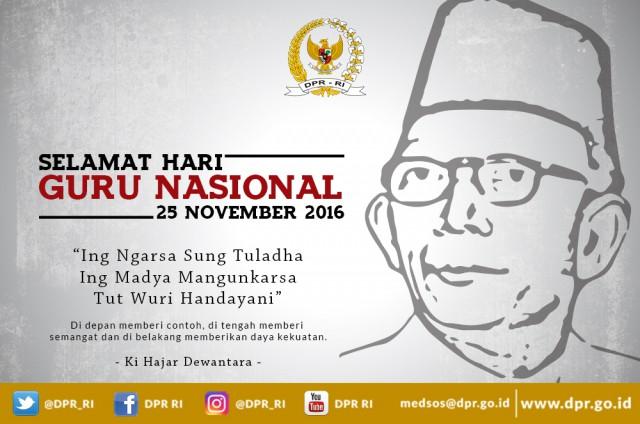 Kapan Hari Guru Nasional di Indonesia