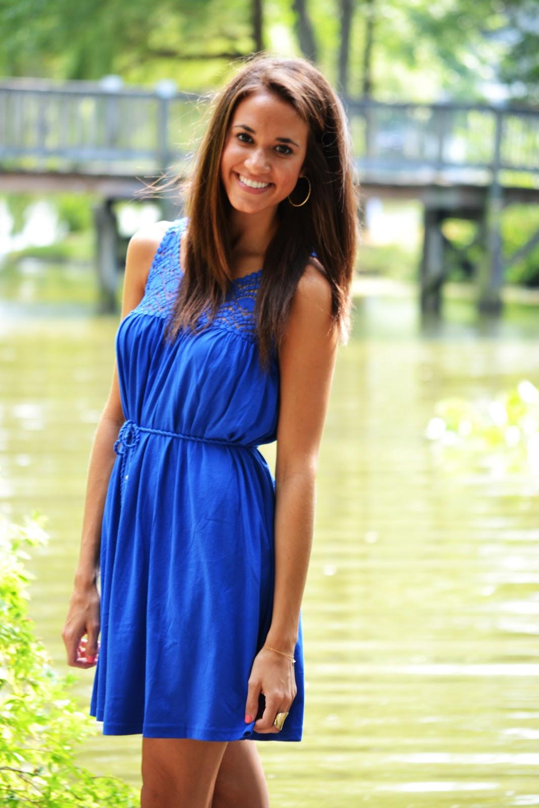 3c8c1a9dd8 Outfit Post  Cobalt Blue