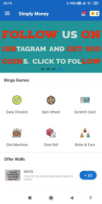 Simply Money app 1-Click Unlimited Paytm Earning Trick