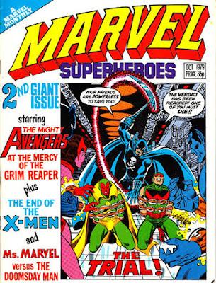 Marvel Super-Heroes #354, the Grim Reaper