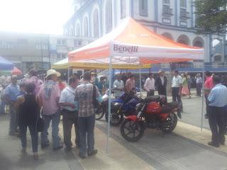 Activacion de marca con Motocicletas Keeway