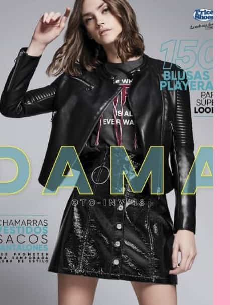 Catalogo Price shoes Damas  otoño invierno 2018