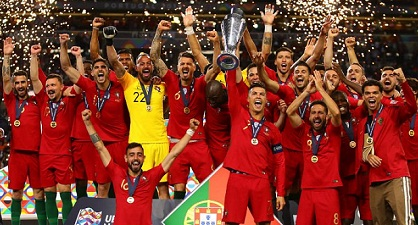 Portugal wins the inaugural Nations League 2019 over Netherlands