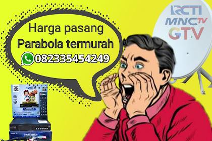 Harga Parabola TV Bebas Bulanan, Tinggal Pakai
