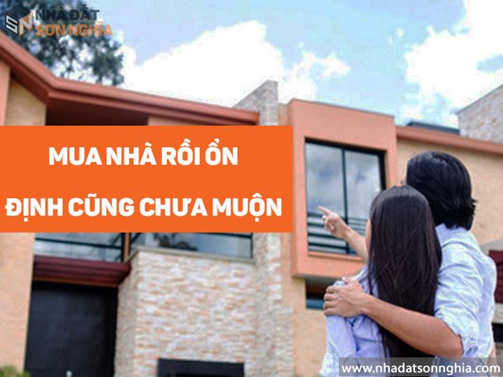Giữ tâm lý tiết kiệm mua nhà rồi ổn định