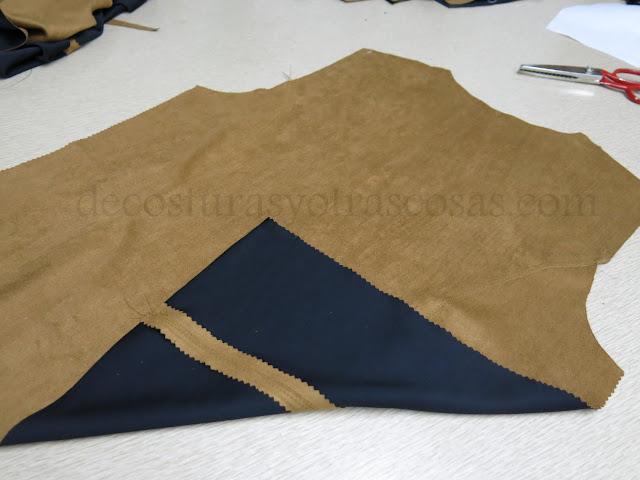 como abrir márgenes de costura sin planchar
