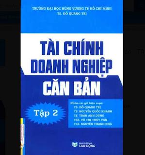 Tài Chính Doanh Nghiệp Căn Bản - Tập 2 ebook PDF EPUB AWZ3 PRC MOBI