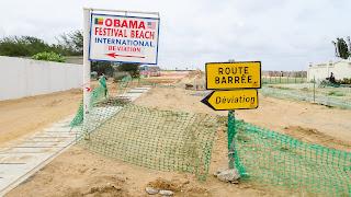 Festival in Benin at the beach in 2020 ?