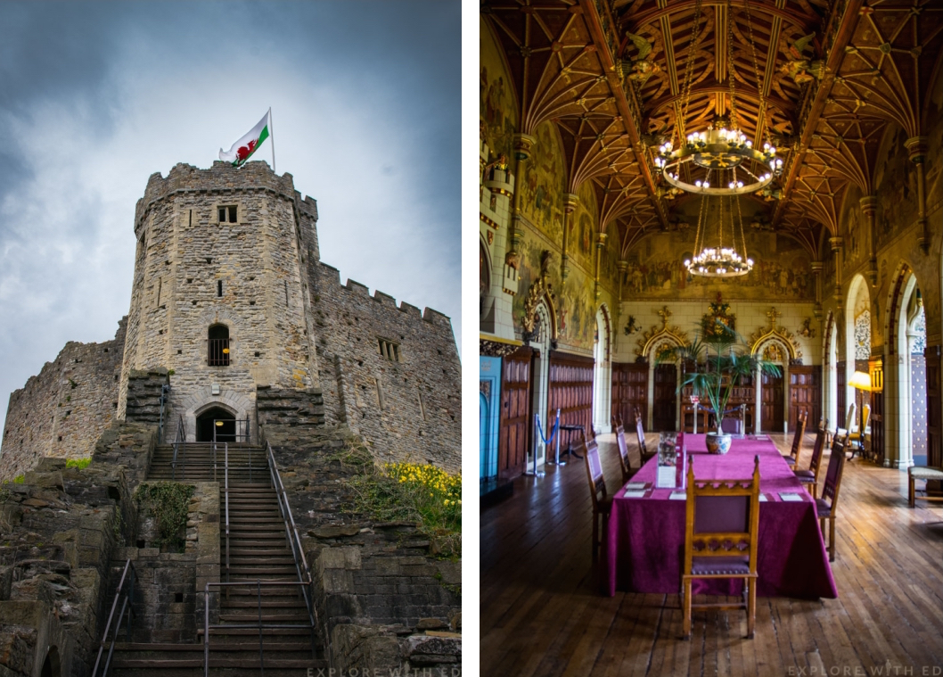 Cardiff Castle Norman Keep, The Banquet Hall