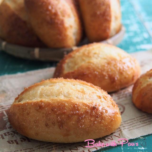 Butter Sugar Buns (Sourdough)